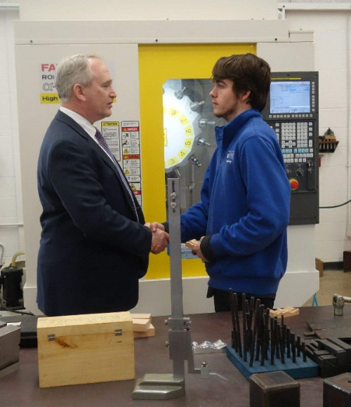 State Auditor Faber visited Ashland County-West Holmes RAMTEC