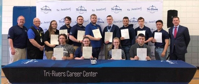 Signing Day for RAMTEC Engineering students
