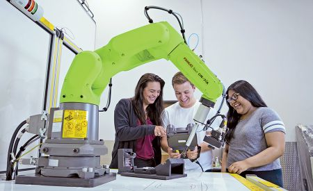 Prepare students for technologically advanced manufacturing jobs