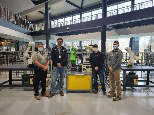 IST attends training at FANUC