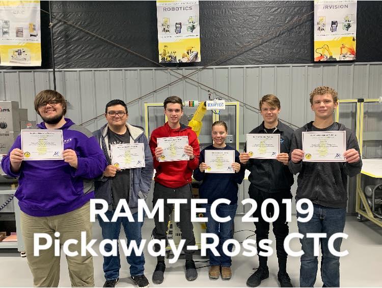 Congratulations to RAMTEC students!