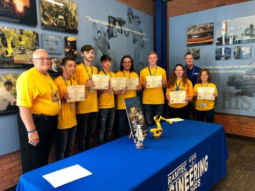 Tri-Rivers RAMTEC students earn Industry Recognized Credentials