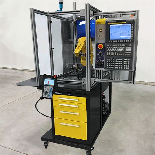 Machine Tending Educational Cell CNC Simulator - APT Tool