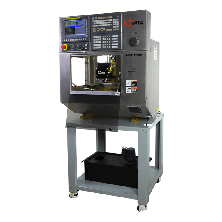 Levil CNC Certification Milling Cart